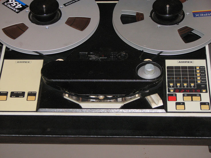 Ampex ATR 100 in the Reel2ReelTexas.com's vintage recording collection