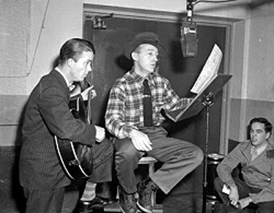 early years with Les paul and Bing Crosby
