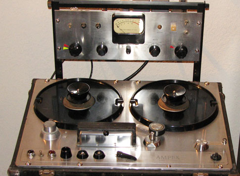 Ampex 300 in the Phantom Productions vintage recording collection