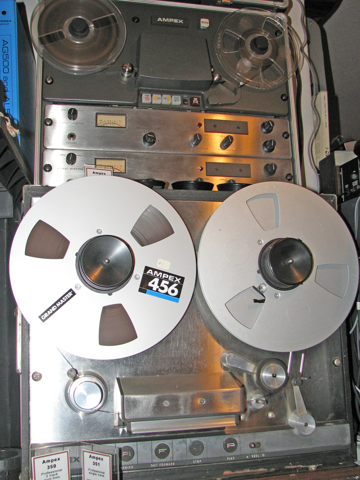 Ampex 350 Solid State  in Phantom Productions' vintage tape recording collection