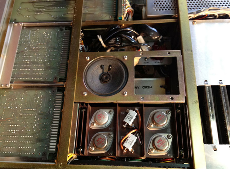 "Ampex PR260 reel to reel 1/2"" data tape recorder in Reel2ReelTexas.com's vintage recording collection"