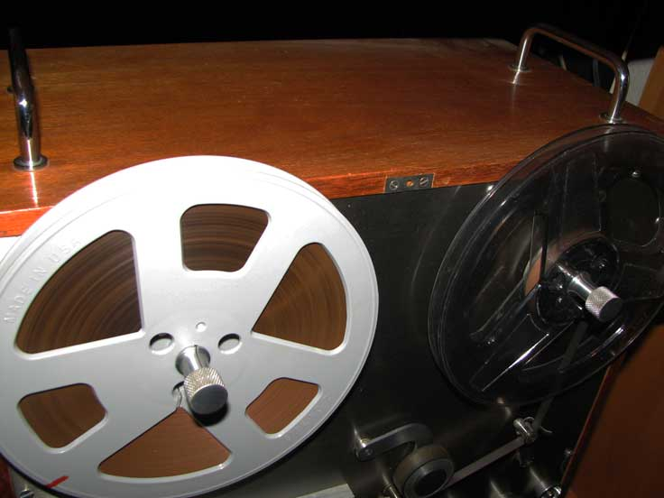 Brush 2105 Professional full track from the 1950's in Reel2ReelTexas.com's vintage recording collection