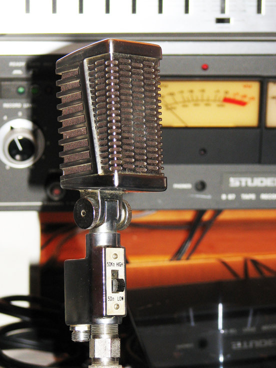 Calrad DM16 in Reel2ReelTexas.com's vintage microphone and recording equipment collection