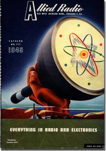 picture of cover of 1949 Allied Radio catalog