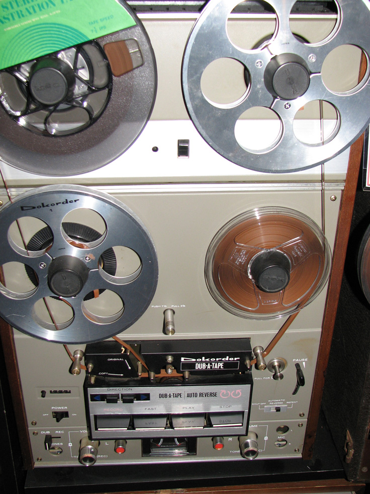 Dokorder 8020 Dub A Tape reel to reel tape recorder in Reel2ReelTexas' vintage recording collection