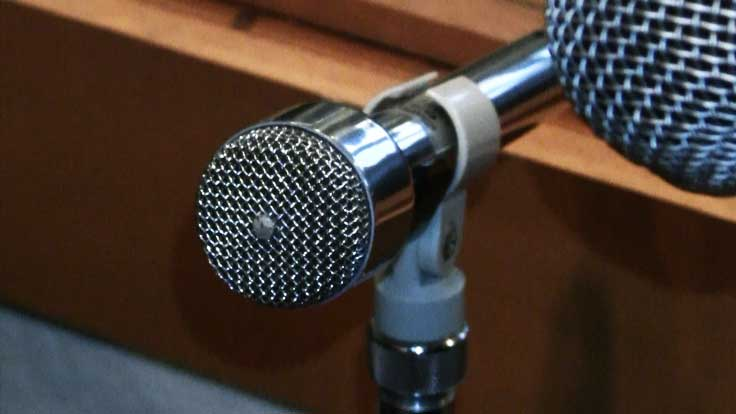 Electro Voice 631 microphone in   Phantom Productions vintage recording collection