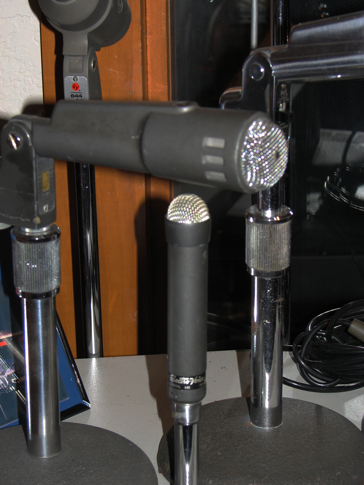 Elecctro Voice 648 microphone in the Reel2ReelTexas.com's vintage microphone and recording equipment collection