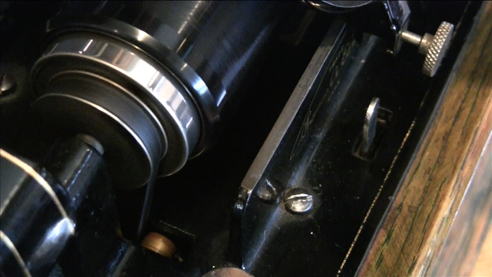 1904 Edison standard cylinder player in Reel2ReelTexas.com's vintage recording collection