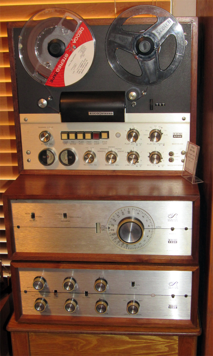 Eico Recorder, 2080 Amplifier & Tuner in the Reel2ReelTexas.com vintage recording collection