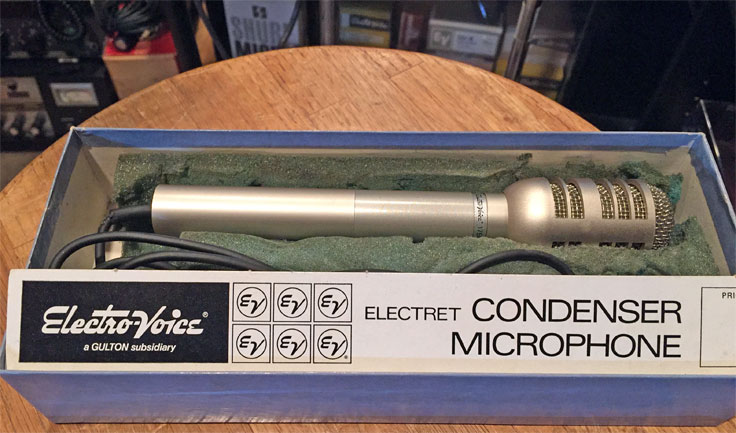 Electro Voice 715 microphone in   Reel2ReelTexas.com's vintage recording collection