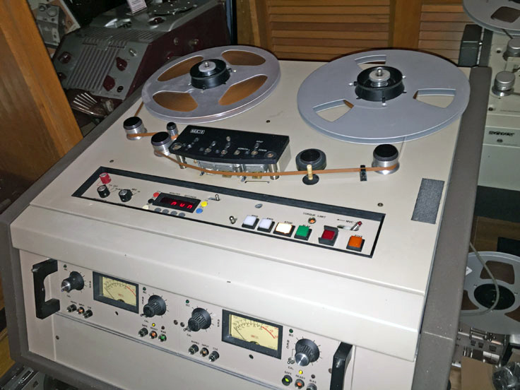 MCI JH-110 professional reel to reel tape recorder in the Reel2ReelTexas.com vintage recording collection