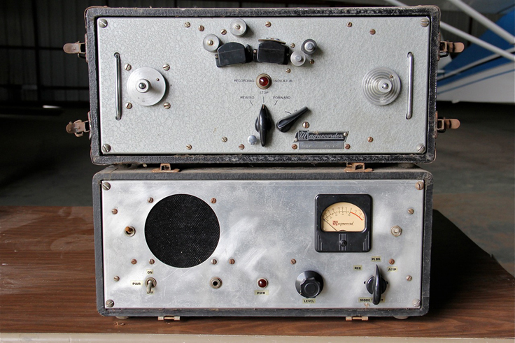 One of the first Magnecord PT-6 reel to reel professional tape recorders given to Dave Boyers by his Dad John Boyers one of the original founders of Magnecord