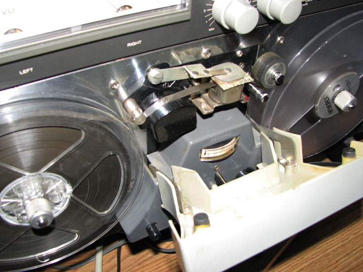 Magnecord S-36B reel to reel tape recorder in the Reel2ReelTexas.com's vintage recording collection