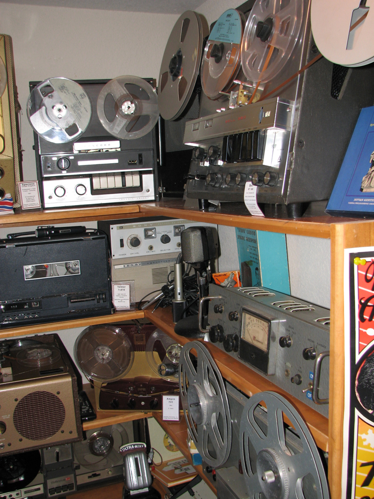 Magnecord P 63 tape deck with the P-60C amplifier in the Reel2ReelTexas.com's vintage recording collection