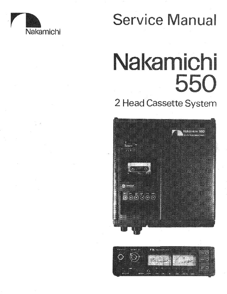 Nakamichi 550 professional 3 channel cassette tape recorder in the Reel2ReelTexas.om vintage recording collection
