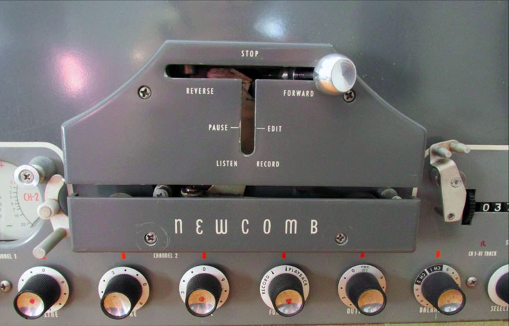 Newcomb Audio Products SM 310 B reel tape recorcer in the Reel2ReelTexas.com vintage recording collection