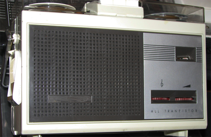 Norelco 101 reel to reel tape recorder in Reel2ReelTexas.com's vintage recording collection