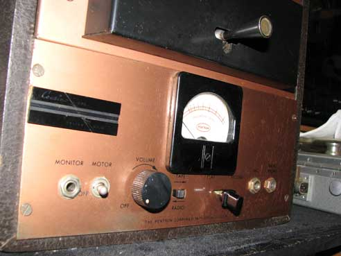 Pentron MP-2 professional mono tape recorder in Reel2ReelTexas' vintage recording collection