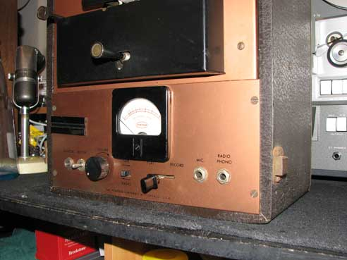 Pentron MP-2 professional mono tape recorder in Phantom Productions vintage recording collection