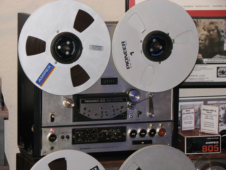Pioneer RTU-11 4/4 professional reel to reel tape deck for the RT-2022 & 2044 in the Reel2ReelTexas.com's vintage recording collection