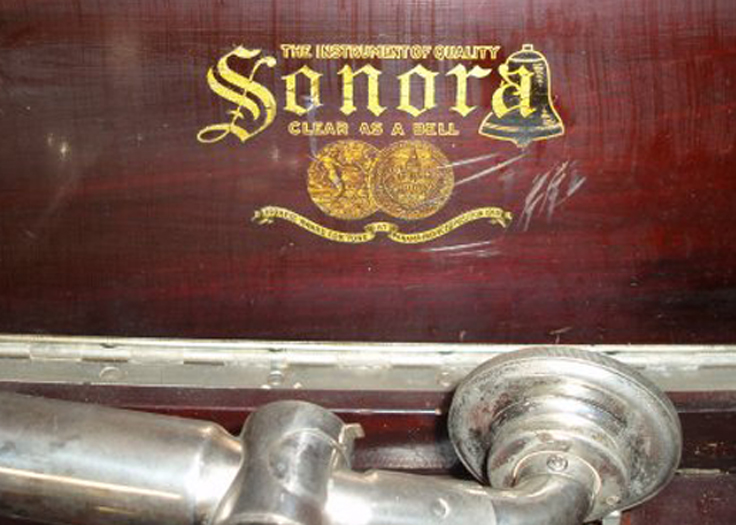 Presto built Sonora phonographs