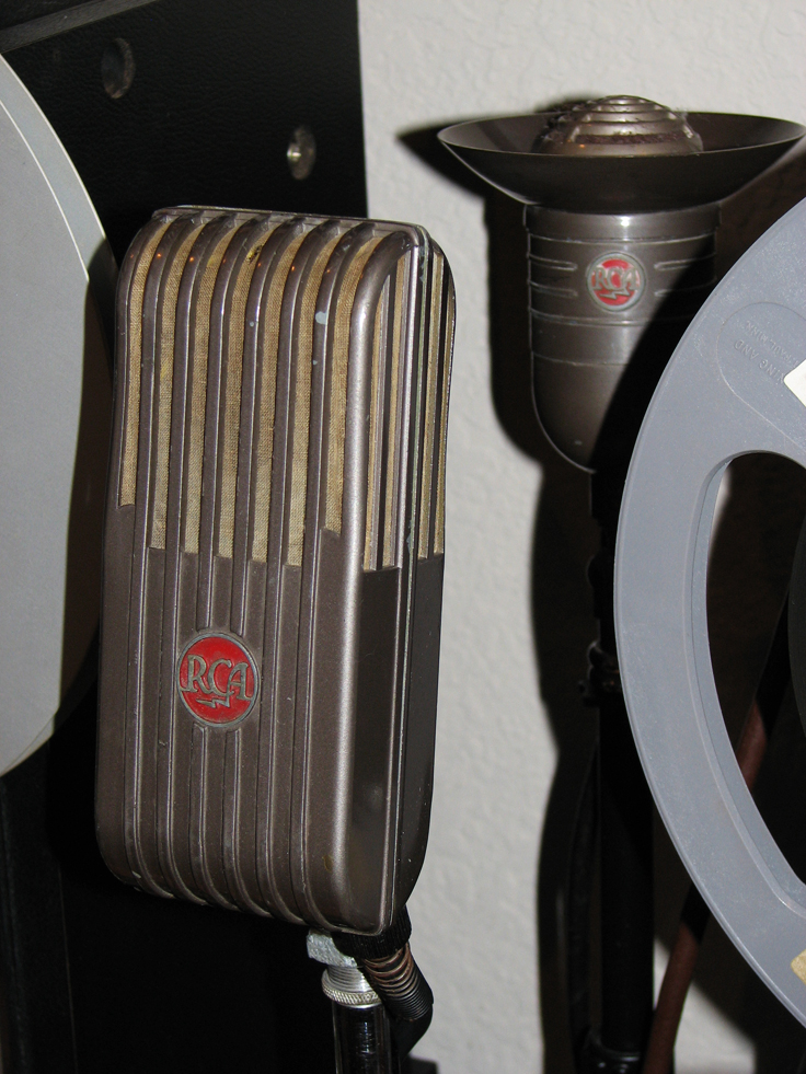 RCA MI6204C microphone in the Reel2ReelTexas.com's vintage recording collection