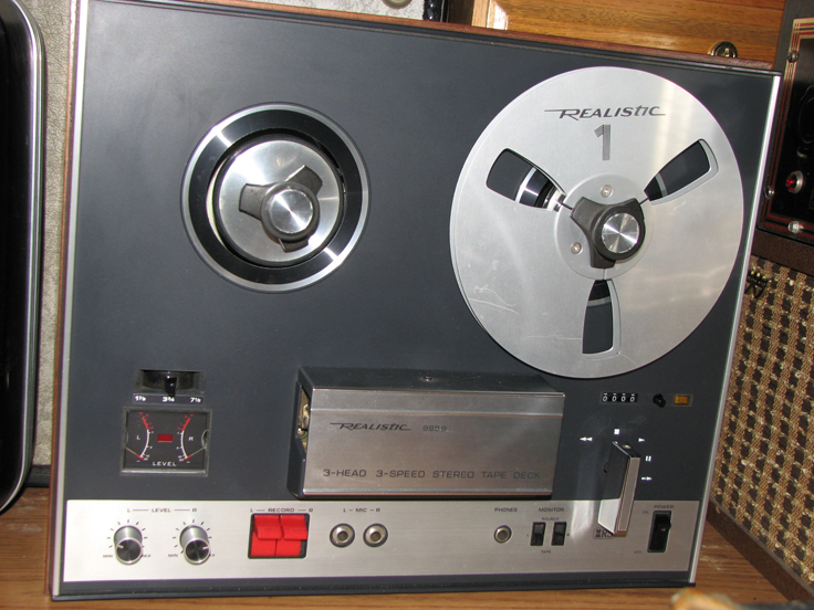 Radio Shack Realistic 9999 reel to reel tape recorder in the   Reel2ReelTexas.com's vintage recording collection