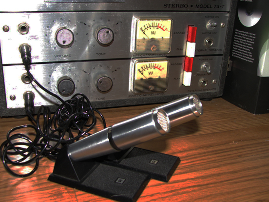 Rheem Califoe microphones in Reel2ReelTexas.com's vintage microphone and recording equipment collection