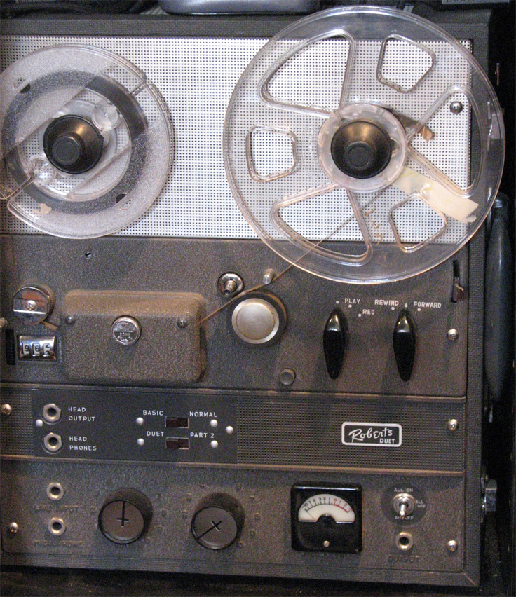 Roberts 191 in Reel2ReelTexas.com vintage reel to reel tape recorder collection