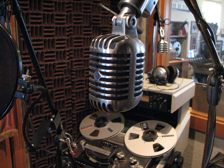 Shure 556 in Phantom Productions vintage recording collection
