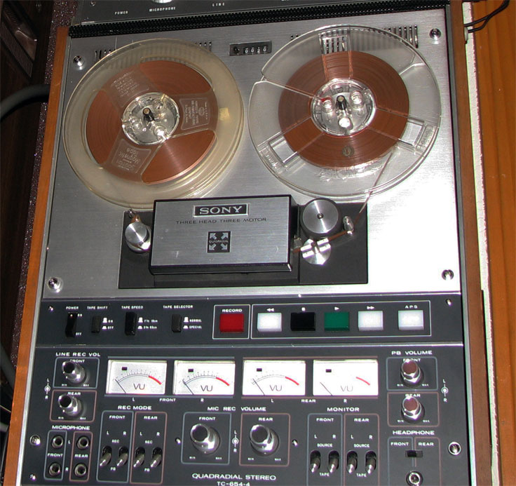 Sony TC-654-4 donated by Don Nattinger to the Reel2ReelTexas collection
