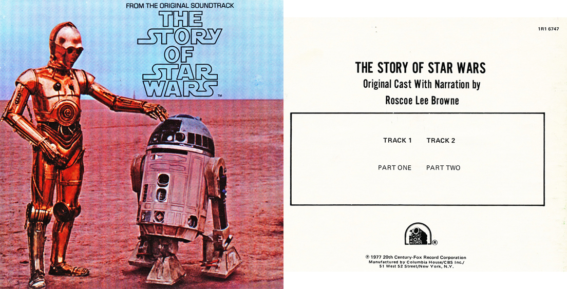 The Making of Star Wars reel to reel tape in the Reel2ReelTexas.com's vintage recording collection