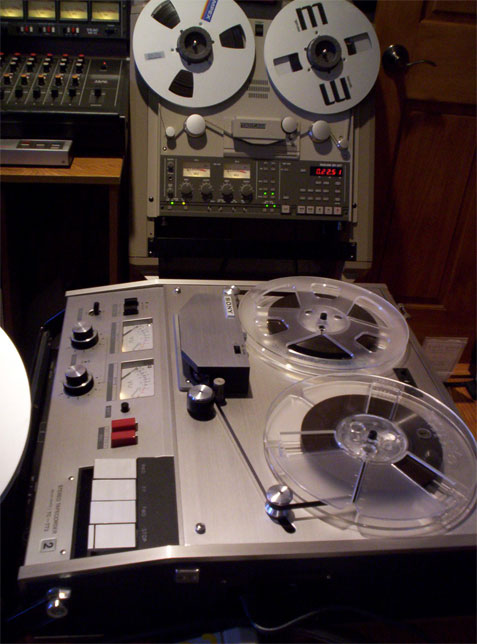 picture of the Tascam BR-20T in Phantom's reel recorder collection
