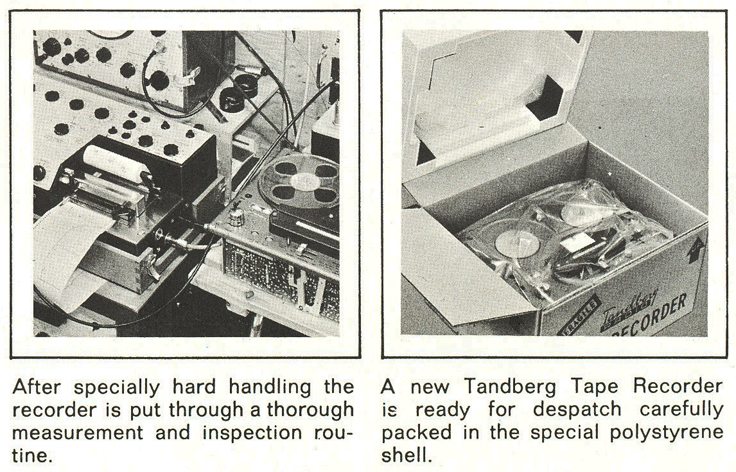 1960's profile of the Tandberg reel to reel tape recorder factory in the Phantom Productions' vintage recording  collection