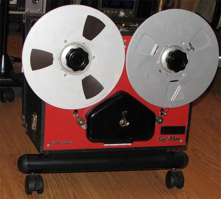Tape Athon reel tape recorder in Reel2ReelTexas' vintage recording collection