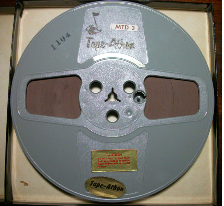 Tape Athon 4 hour tape in Reel2ReelTexas.com's vintage recording collection