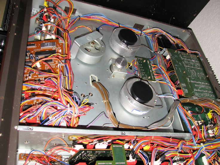 Clean and replace drive belt on Tascam 388 Studio 8 in Phantom Productions' vintage tape recording collection