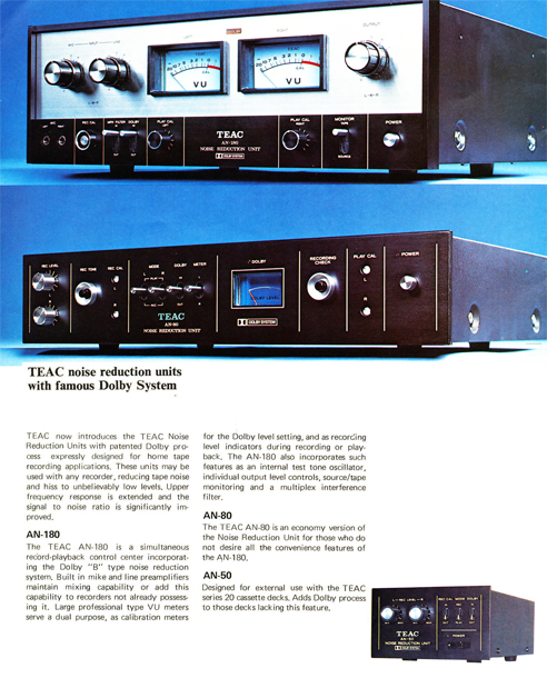 Teac 180 ad in Reel2ReelTexas' vintage recording collection