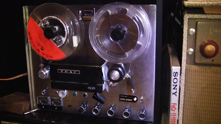 Teac 505 in Reel2ReelTexas.com's vintage recording collection