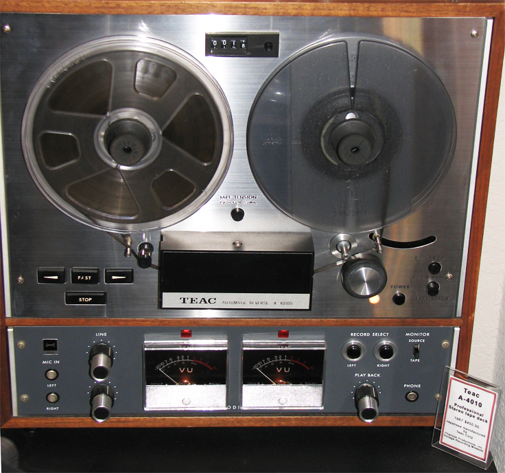 Teac A-4010 reel tape recorder in Reel2ReelTexas.com's vintage recording collection