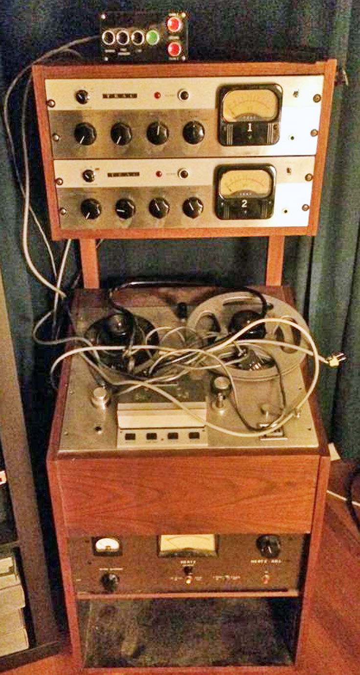 Teac R-310 pro reel tape recorders