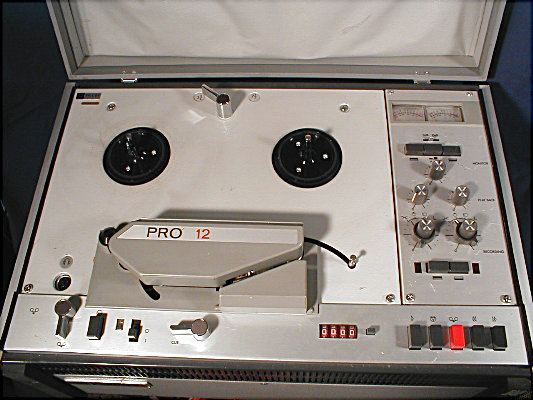 Phillips Pro 12 reel tape recorder
