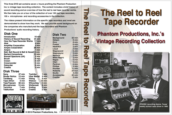 cover of Phantom Productions' vintage DVD set