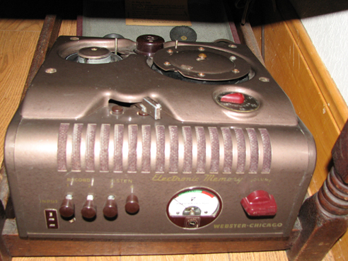 second Webster Chicago 78 Wire recorder in Phantom Productions' vintage reel recorder collection