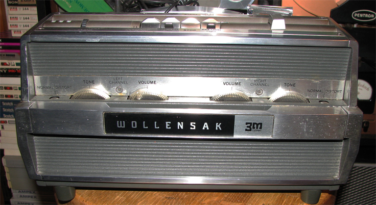 1965 Wollensak 1580 reel to reel tape recorder in   Reel2ReelTexas.com's vintage recording collection