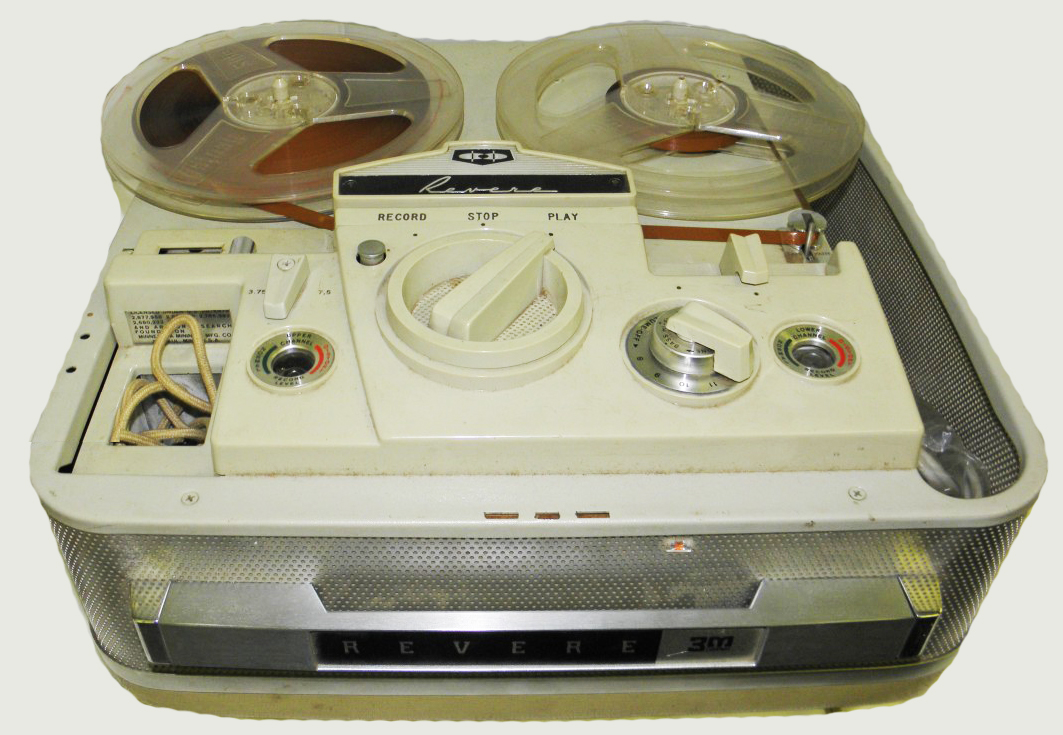 1961 revere reel tape recorder