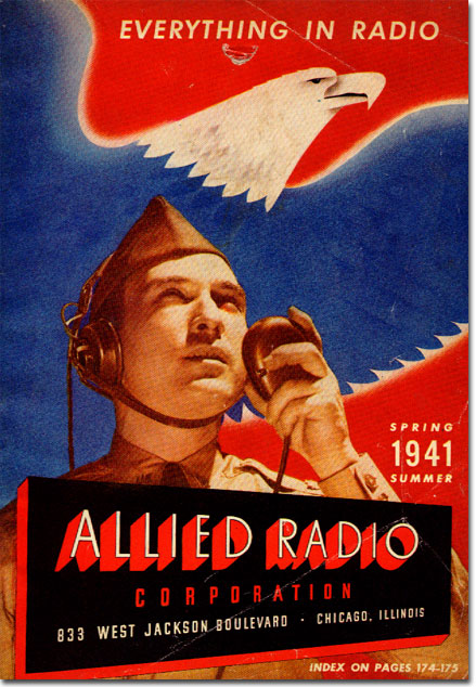 picture of Allied Radio Spring Summer catalog cover