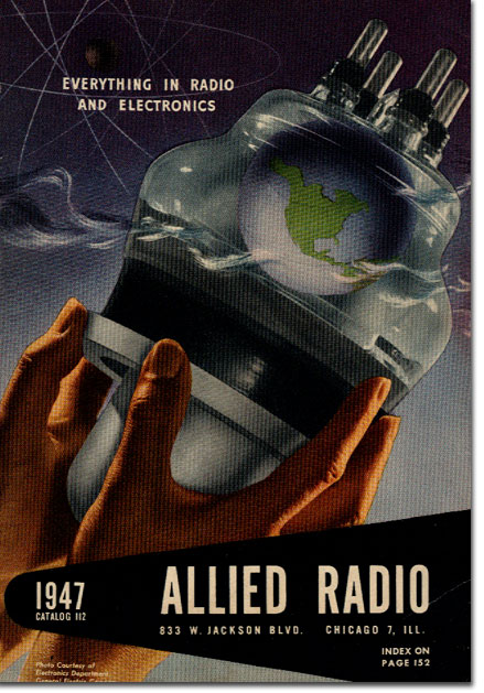 picture of 1947 Allied Radio catalog