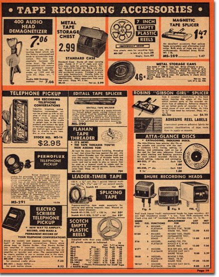 picture of 1956 Lafayette sale catalog