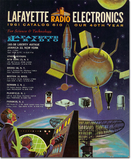 picture of 1961 Lafayette Radio catalog